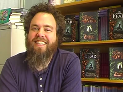 Fantasy author Patrick Rothfuss