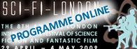 SCI-FI-LONDON programme online